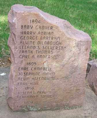 ANDERSON, CARL A. - Minnehaha County, South Dakota | CARL A. ANDERSON - South Dakota Gravestone Photos