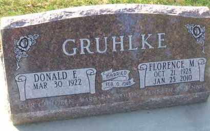 GRUHLKE, FLORENCE M. - Minnehaha County, South Dakota | FLORENCE M. GRUHLKE - South Dakota Gravestone Photos