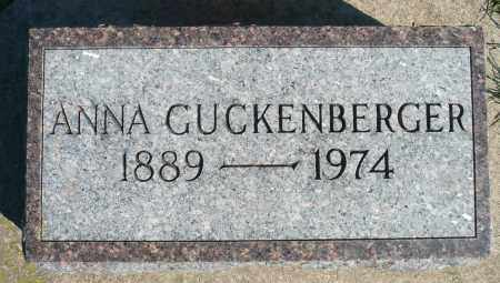 GUCKENBERGER, ANNA - Minnehaha County, South Dakota   ANNA GUCKENBERGER - South Dakota Gravestone Photos