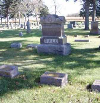 GUILD, FAMILY MARKER - Minnehaha County, South Dakota | FAMILY MARKER GUILD - South Dakota Gravestone Photos