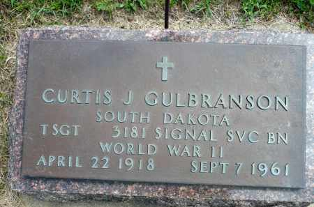 GULBRANSON, CURTIS J. (WWII) - Minnehaha County, South Dakota | CURTIS J. (WWII) GULBRANSON - South Dakota Gravestone Photos