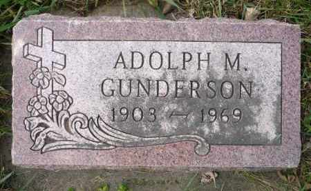 GUNDERSON, ADOLPH M. - Minnehaha County, South Dakota | ADOLPH M. GUNDERSON - South Dakota Gravestone Photos
