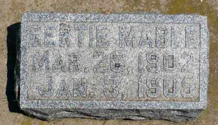 GUNDERSON, GERTIE MABLE - Minnehaha County, South Dakota | GERTIE MABLE GUNDERSON - South Dakota Gravestone Photos