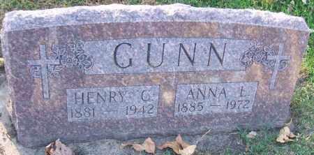 GUNN, HENRY C. - Minnehaha County, South Dakota   HENRY C. GUNN - South Dakota Gravestone Photos