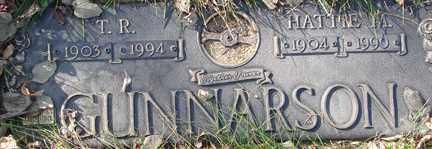 GUNNARSON, T.R. - Minnehaha County, South Dakota | T.R. GUNNARSON - South Dakota Gravestone Photos