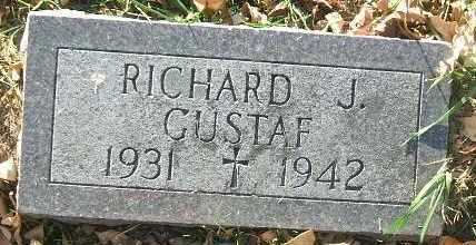 GUSTAF, RICHARD J. - Minnehaha County, South Dakota | RICHARD J. GUSTAF - South Dakota Gravestone Photos
