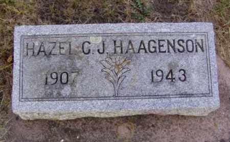 HAAGENSON, HAZEL CATHERINE JULIET - Minnehaha County, South Dakota | HAZEL CATHERINE JULIET HAAGENSON - South Dakota Gravestone Photos