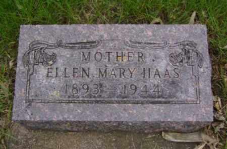 HAAS, ELLEN MARY - Minnehaha County, South Dakota | ELLEN MARY HAAS - South Dakota Gravestone Photos