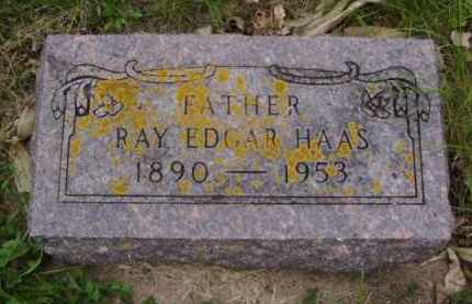 HAAS, RAY EDGAR - Minnehaha County, South Dakota | RAY EDGAR HAAS - South Dakota Gravestone Photos