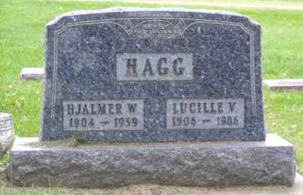 HAGG, HJALMER W. - Minnehaha County, South Dakota | HJALMER W. HAGG - South Dakota Gravestone Photos