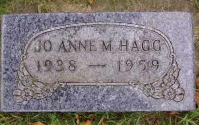 HAGG, JO ANNE M. - Minnehaha County, South Dakota | JO ANNE M. HAGG - South Dakota Gravestone Photos