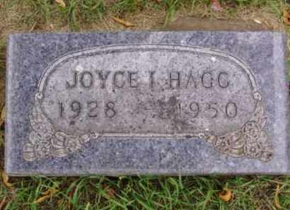 HAGG, JOYCE I. - Minnehaha County, South Dakota   JOYCE I. HAGG - South Dakota Gravestone Photos