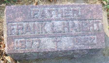 HAIGHT, FRANK LAFAYETTE - Minnehaha County, South Dakota   FRANK LAFAYETTE HAIGHT - South Dakota Gravestone Photos