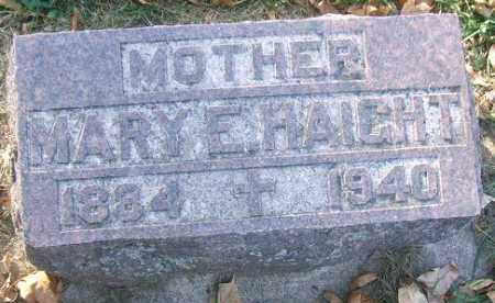 HAIGHT, MARY E. - Minnehaha County, South Dakota | MARY E. HAIGHT - South Dakota Gravestone Photos