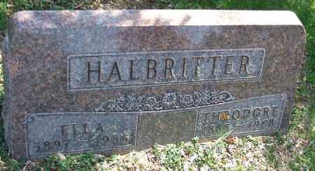 HALBRITTER, THEODORE - Minnehaha County, South Dakota | THEODORE HALBRITTER - South Dakota Gravestone Photos