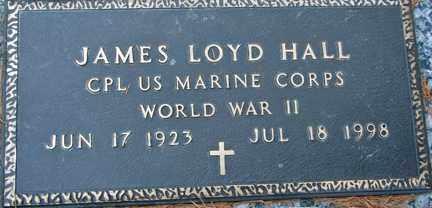 HALL, JAMES LOYD (WWII) - Minnehaha County, South Dakota | JAMES LOYD (WWII) HALL - South Dakota Gravestone Photos