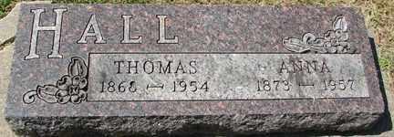 HALL, THOMAS - Minnehaha County, South Dakota   THOMAS HALL - South Dakota Gravestone Photos