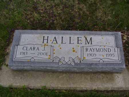 OPOIEN HALLEM, CLARA - Minnehaha County, South Dakota | CLARA OPOIEN HALLEM - South Dakota Gravestone Photos