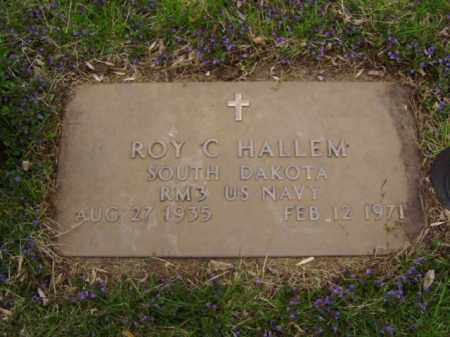 HALLEM, ROY C. - Minnehaha County, South Dakota | ROY C. HALLEM - South Dakota Gravestone Photos