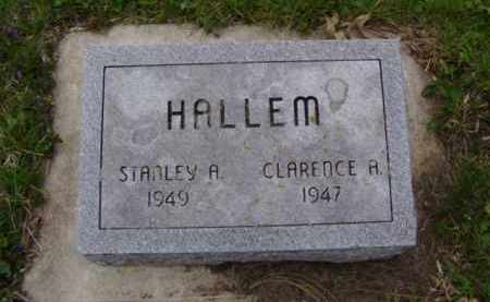 HALLEM, CLARENCE A. - Minnehaha County, South Dakota | CLARENCE A. HALLEM - South Dakota Gravestone Photos
