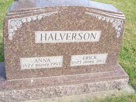 HALVERSON, ERICK - Minnehaha County, South Dakota | ERICK HALVERSON - South Dakota Gravestone Photos