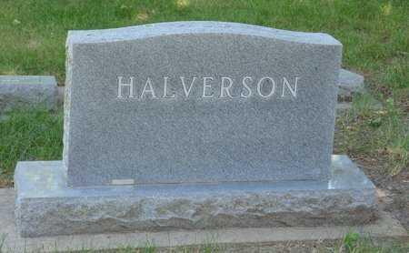 HALVERSON, FAMILY HEADSTONE - Minnehaha County, South Dakota | FAMILY HEADSTONE HALVERSON - South Dakota Gravestone Photos