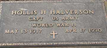 HALVERSON, HOLLIS H. (WWII) - Minnehaha County, South Dakota | HOLLIS H. (WWII) HALVERSON - South Dakota Gravestone Photos