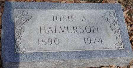 HALVERSON, JOSIE A. - Minnehaha County, South Dakota   JOSIE A. HALVERSON - South Dakota Gravestone Photos