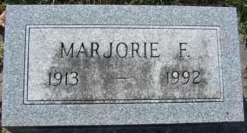 HALVERSON, MARJORIE F. - Minnehaha County, South Dakota   MARJORIE F. HALVERSON - South Dakota Gravestone Photos