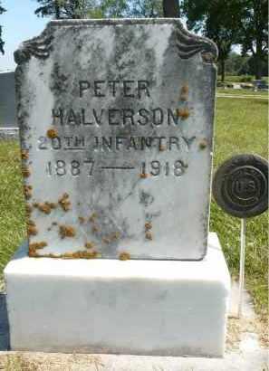 HALVERSON, PETER - Minnehaha County, South Dakota | PETER HALVERSON - South Dakota Gravestone Photos