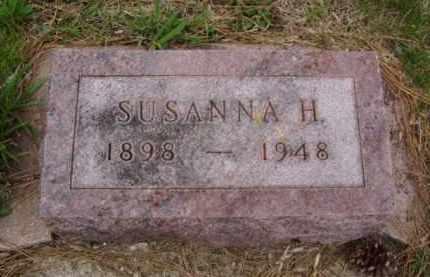 HALVERSON, SUSANNA HELEN - Minnehaha County, South Dakota | SUSANNA HELEN HALVERSON - South Dakota Gravestone Photos