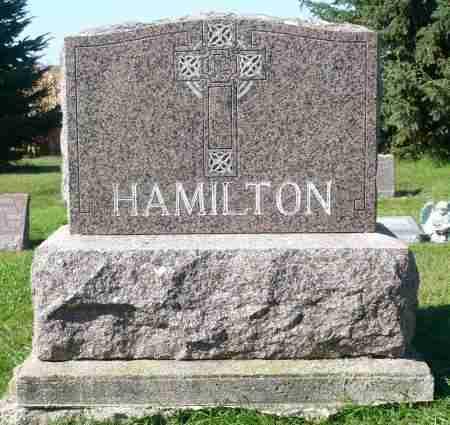 HAMILTON, FAMILY MARKER - Minnehaha County, South Dakota | FAMILY MARKER HAMILTON - South Dakota Gravestone Photos