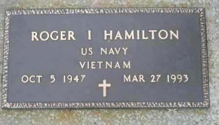 HAMILTON, ROGER I. - Minnehaha County, South Dakota | ROGER I. HAMILTON - South Dakota Gravestone Photos