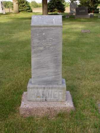 HAMMER, OLE H. - Minnehaha County, South Dakota | OLE H. HAMMER - South Dakota Gravestone Photos
