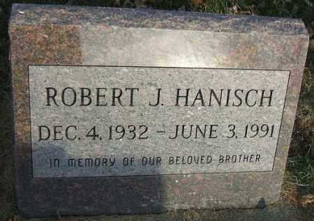 HANISCH, ROBERT J. - Minnehaha County, South Dakota   ROBERT J. HANISCH - South Dakota Gravestone Photos