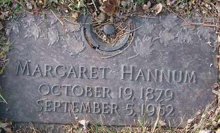 HANNUM, MARGARET - Minnehaha County, South Dakota | MARGARET HANNUM - South Dakota Gravestone Photos