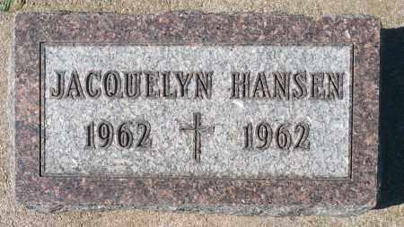 HANSEN, JACQUELYN - Minnehaha County, South Dakota | JACQUELYN HANSEN - South Dakota Gravestone Photos