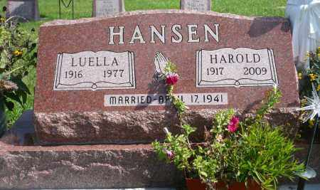 HEMMEN HANSEN, LUELLA - Minnehaha County, South Dakota | LUELLA HEMMEN HANSEN - South Dakota Gravestone Photos
