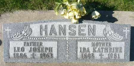 HANSEN, LEO JOSEPH - Minnehaha County, South Dakota   LEO JOSEPH HANSEN - South Dakota Gravestone Photos