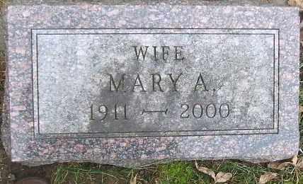 HANSEN, MARY A. - Minnehaha County, South Dakota | MARY A. HANSEN - South Dakota Gravestone Photos