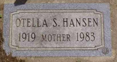 HANSEN, OTELLA S. - Minnehaha County, South Dakota | OTELLA S. HANSEN - South Dakota Gravestone Photos