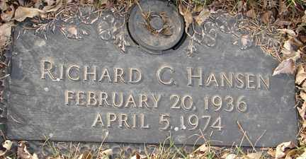 HANSEN, RICHARD C. - Minnehaha County, South Dakota | RICHARD C. HANSEN - South Dakota Gravestone Photos