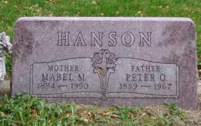 HANSON, MABEL M. - Minnehaha County, South Dakota | MABEL M. HANSON - South Dakota Gravestone Photos