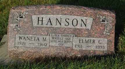 HANSON, ELMER C. - Minnehaha County, South Dakota | ELMER C. HANSON - South Dakota Gravestone Photos