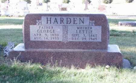 HARDEN, LETTIE - Minnehaha County, South Dakota | LETTIE HARDEN - South Dakota Gravestone Photos
