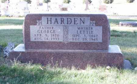 HARDEN, GEORGE - Minnehaha County, South Dakota | GEORGE HARDEN - South Dakota Gravestone Photos