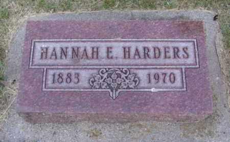 NELSON HARDERS, HANNAH ELISE - Minnehaha County, South Dakota | HANNAH ELISE NELSON HARDERS - South Dakota Gravestone Photos
