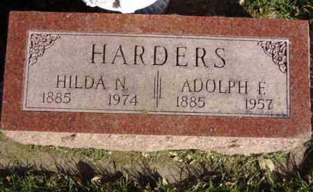 HARDERS, ADOLPH F. - Minnehaha County, South Dakota | ADOLPH F. HARDERS - South Dakota Gravestone Photos