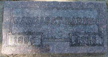 HARDIN, MARGARET - Minnehaha County, South Dakota | MARGARET HARDIN - South Dakota Gravestone Photos