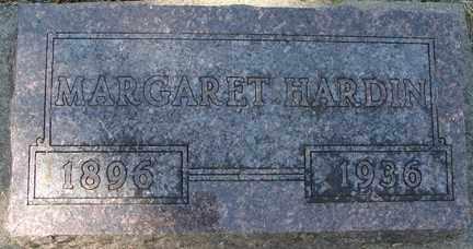 HARDIN, MARGARET - Minnehaha County, South Dakota | MARGARET HARDIN - South Dakota Gravestone Photos
